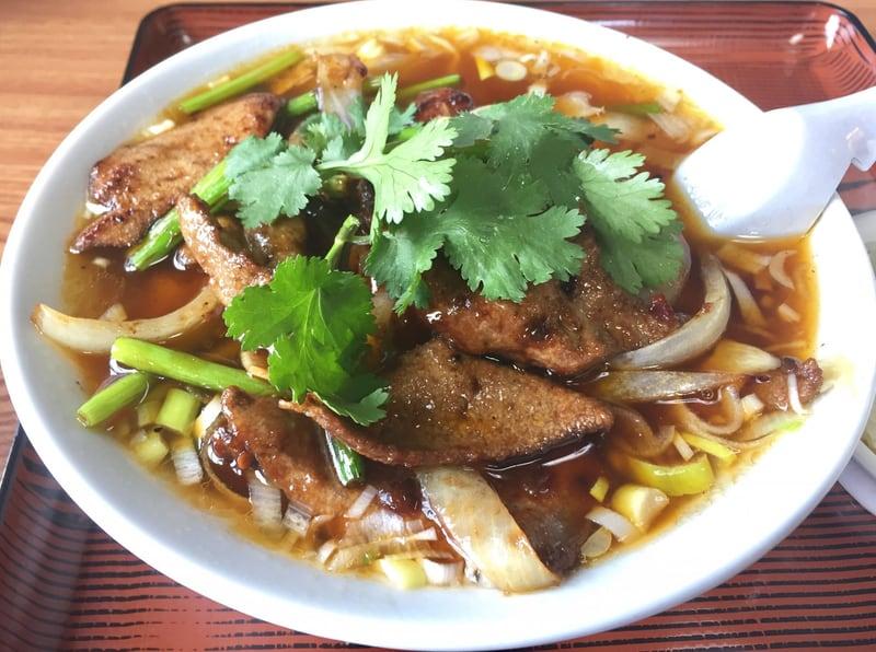 中国料理盛 豚レバー麺