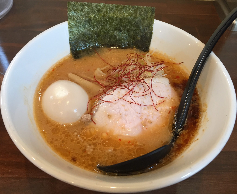 NOODLE SHOP KOUMITEI(香味亭) オマール海老香る味噌ラーメン