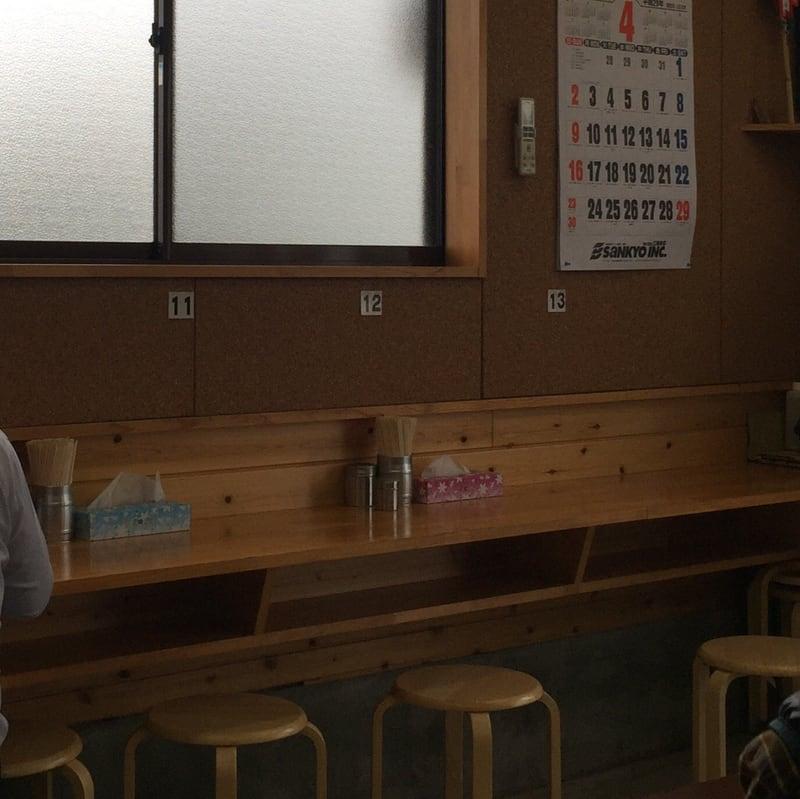 ケンちゃんラーメン秋田店 座席