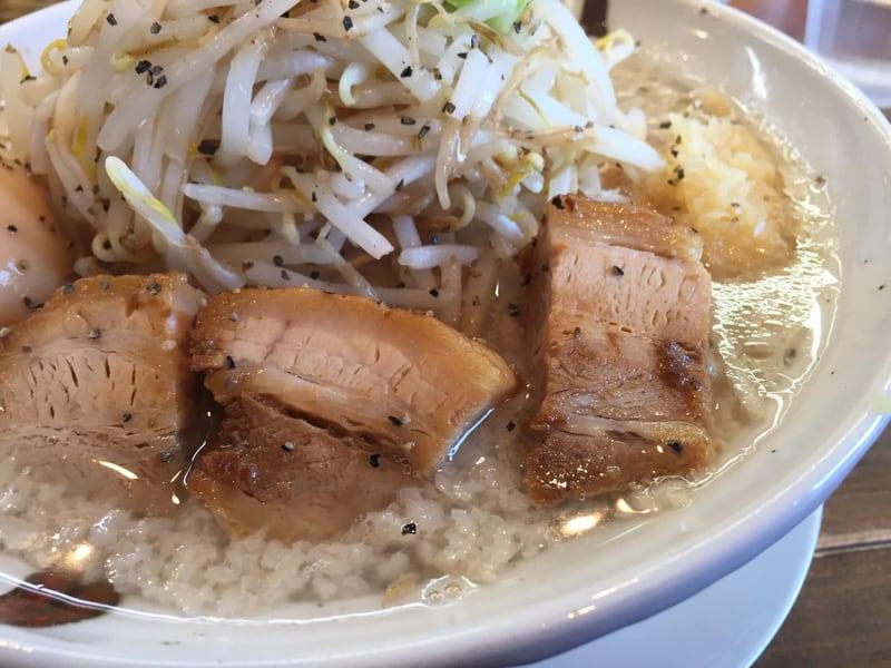 JIRO&MAZESOBA 奨(すすむ) 二郎系塩