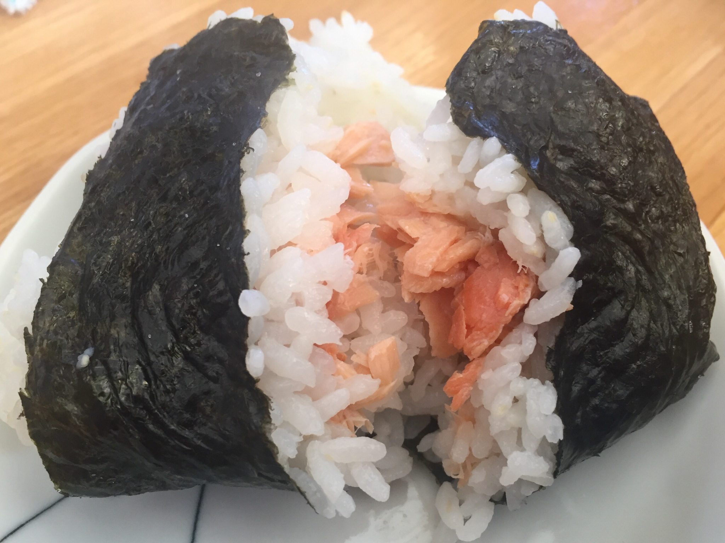 一竜 おにぎり(鮭)