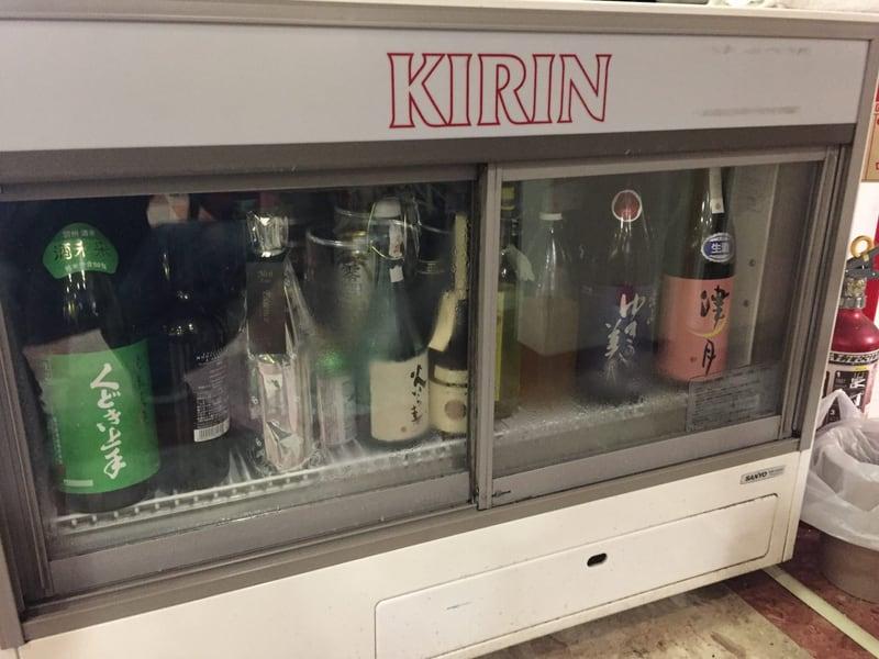鉄板焼居酒屋 粉もん家はち 日本酒の冷蔵庫