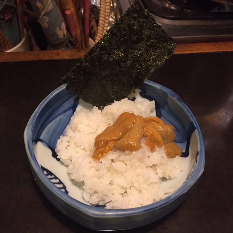 居酒屋 日本海 ウニ飯