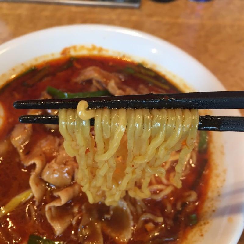中華の台所 喰べちゃいな 激辛四川麺