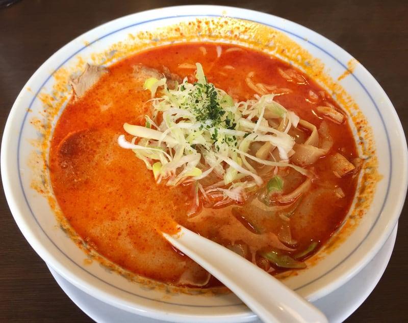 ラーメン 味よし亭 大館店 辛味噌ラーメン(激辛)