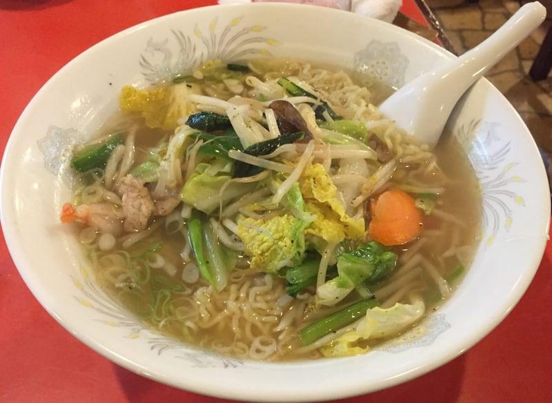 東京まんぷくラーメン 有楽町店 野菜タンメン(しお味)