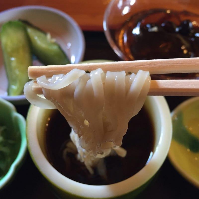 農家レストラン ゆう菜家 美人三色めんざるセット ヤーコン麺