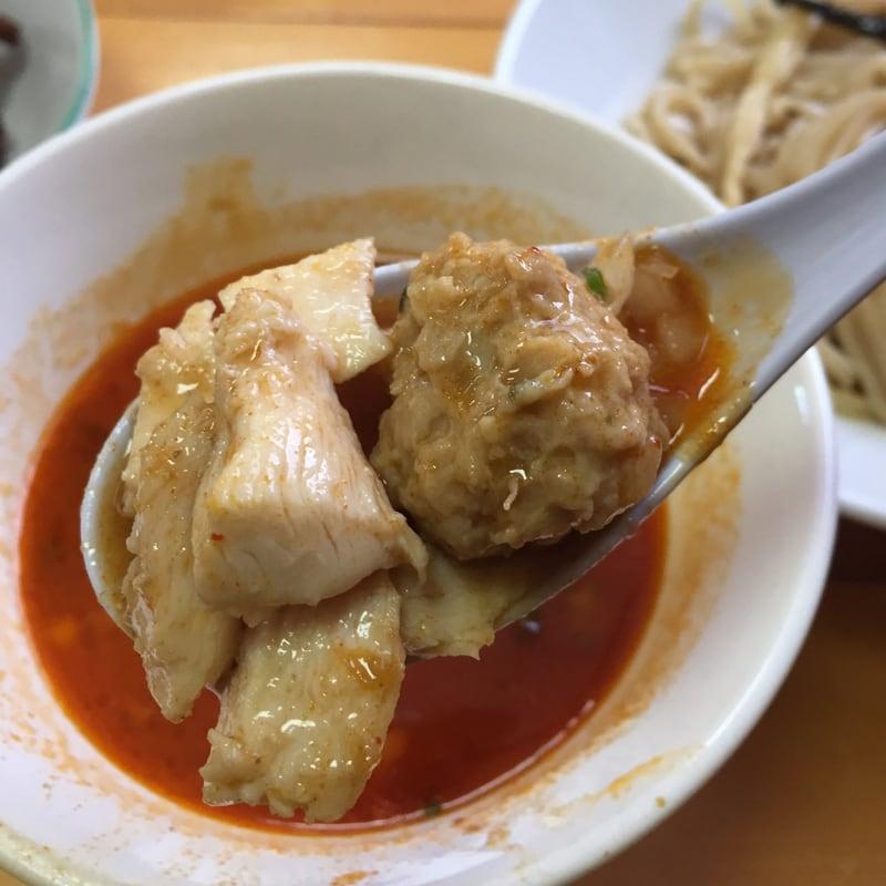 濃厚鶏白湯らーめん 麺屋 一布 濃厚辛鶏つけ麺(激辛)