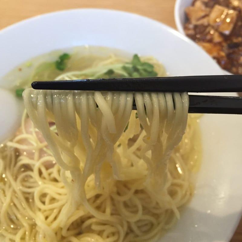 二代目夜来香×中華そばde小松コラボ 塩ラーメン