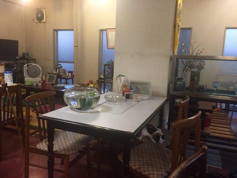 和食・喫茶かすみ 店内