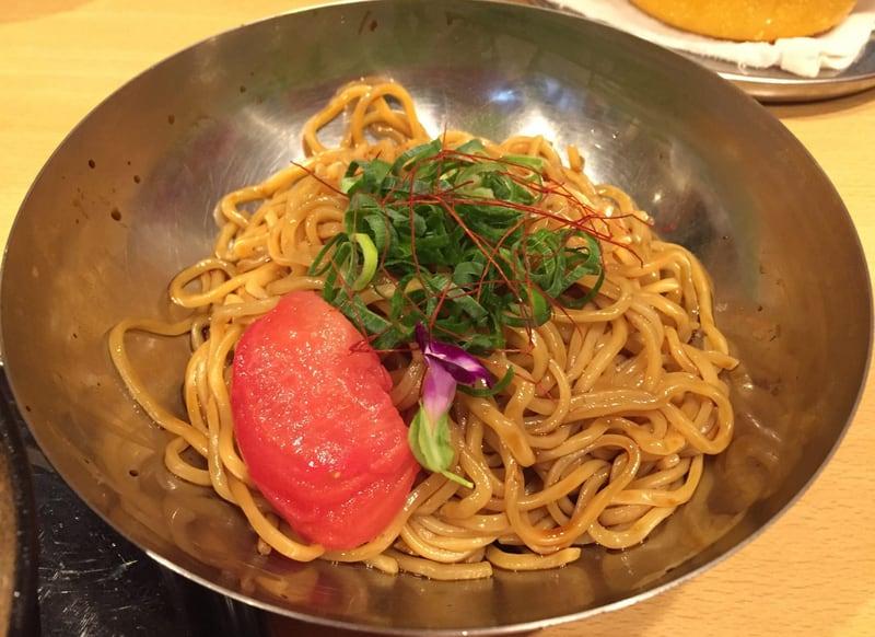 中華そばde小松 冷し担々つけ麺
