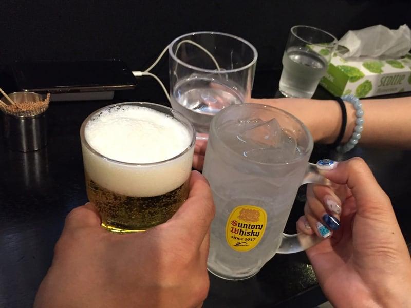 Noodle college SHIROKURO(しろくろ) ハートランド 乾杯