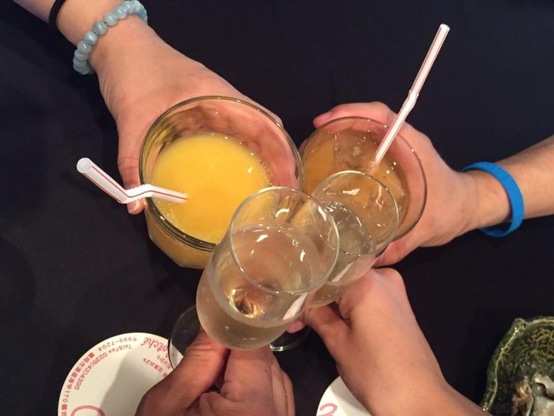 足湯カフェ Chitto Motche(チット・モッシェ) 乾杯