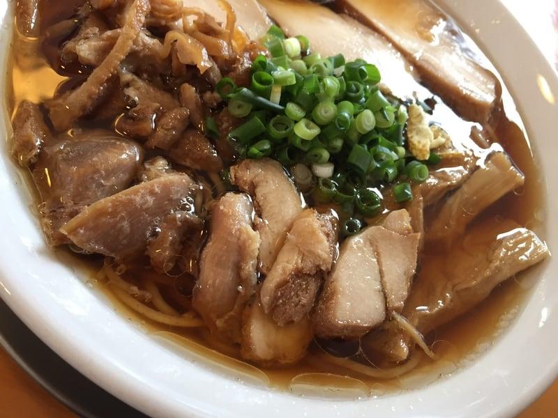 麺饗 松韻 冷たい肉そば