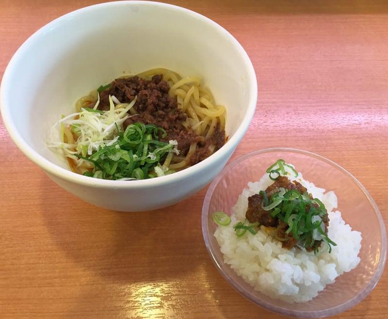 かっぱ寿司 秋田広面店にて汁なし麻婆油そば