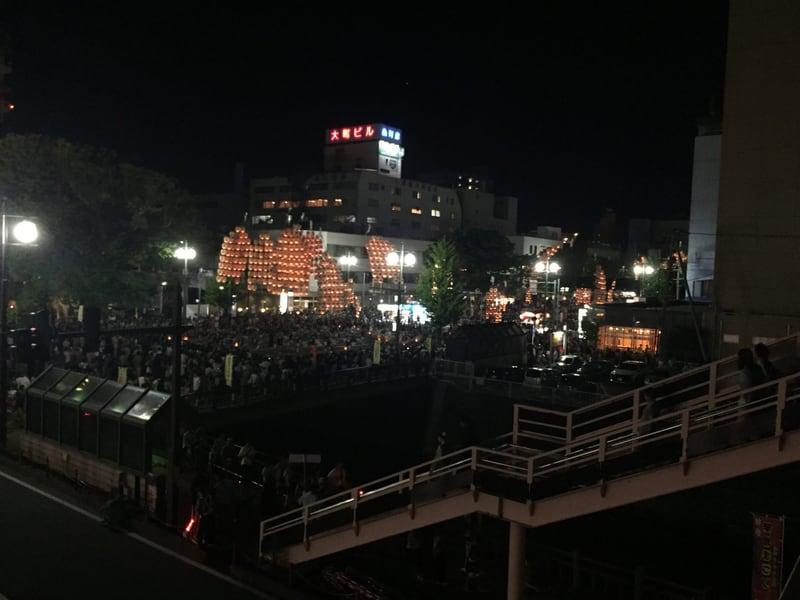 秋田竿燈まつり2017 あきた竿燈屋台村
