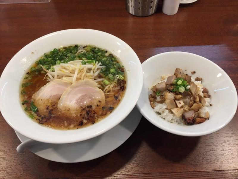 柳麺 多むら 外旭川店 焦がしねぎの醤油ラーメン
