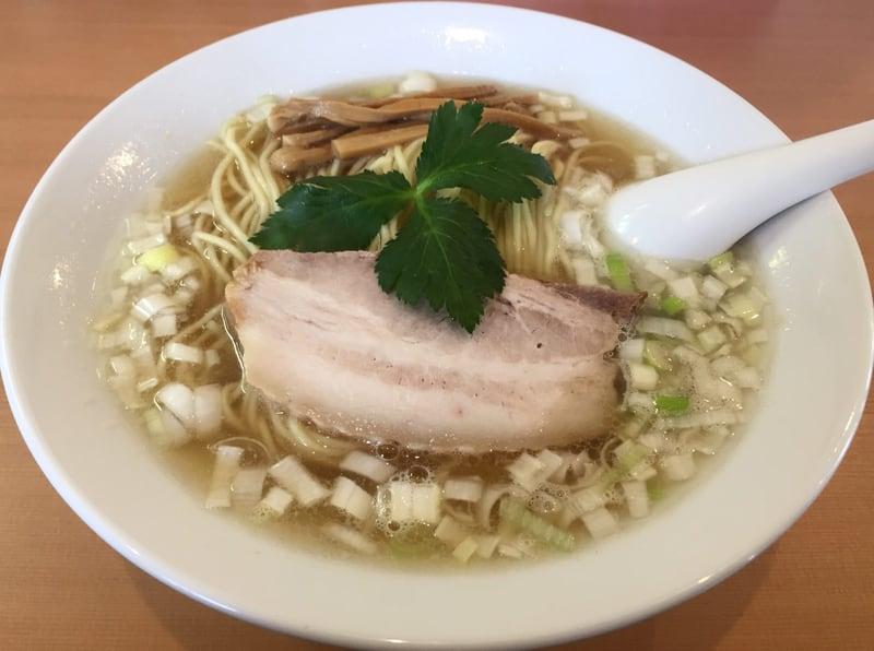 自家製麺 麺や二代目 夜来香 煮干しソバ(醤油味)