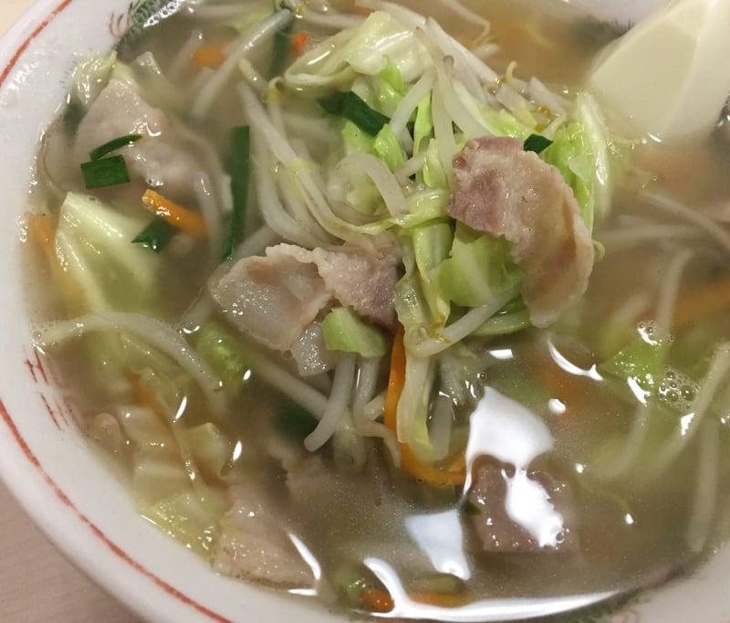 三浦食堂 タンメン