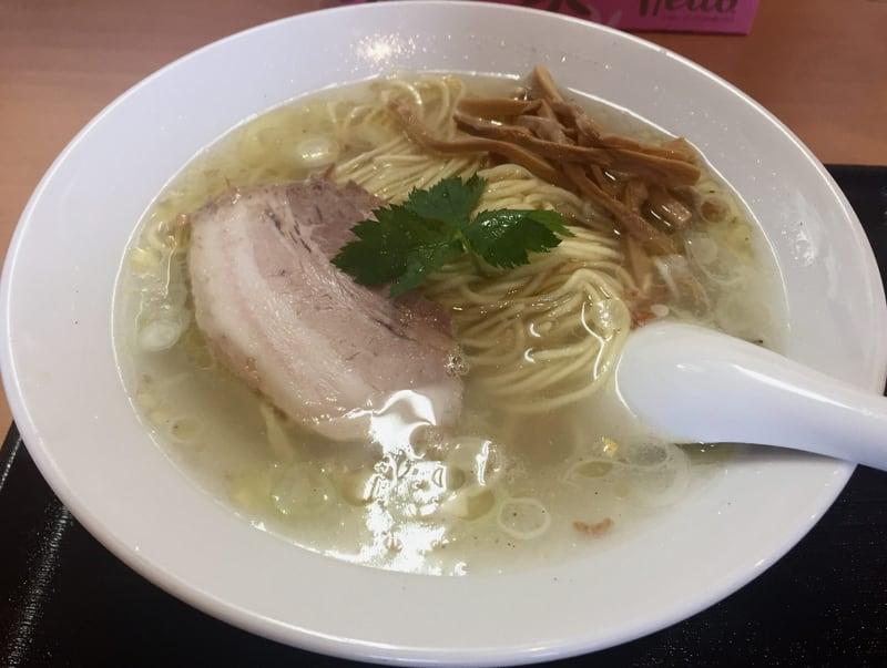 自家製麺 麺や二代目 夜来香 鶏中華ソバ(塩)