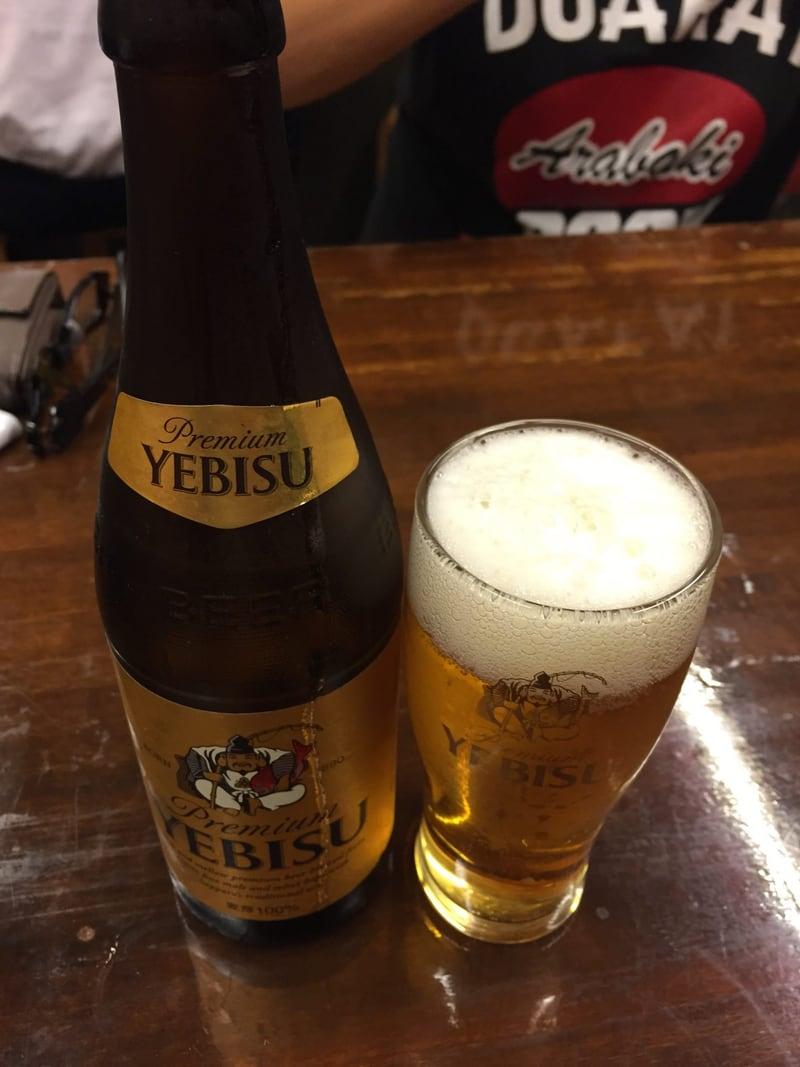 真夜中の中華食堂 上海 ヱビスビール