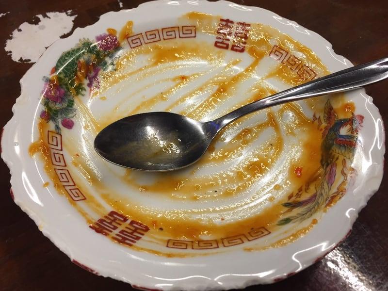 真夜中の中華食堂 上海 ハバネロのチリソース煮 完食