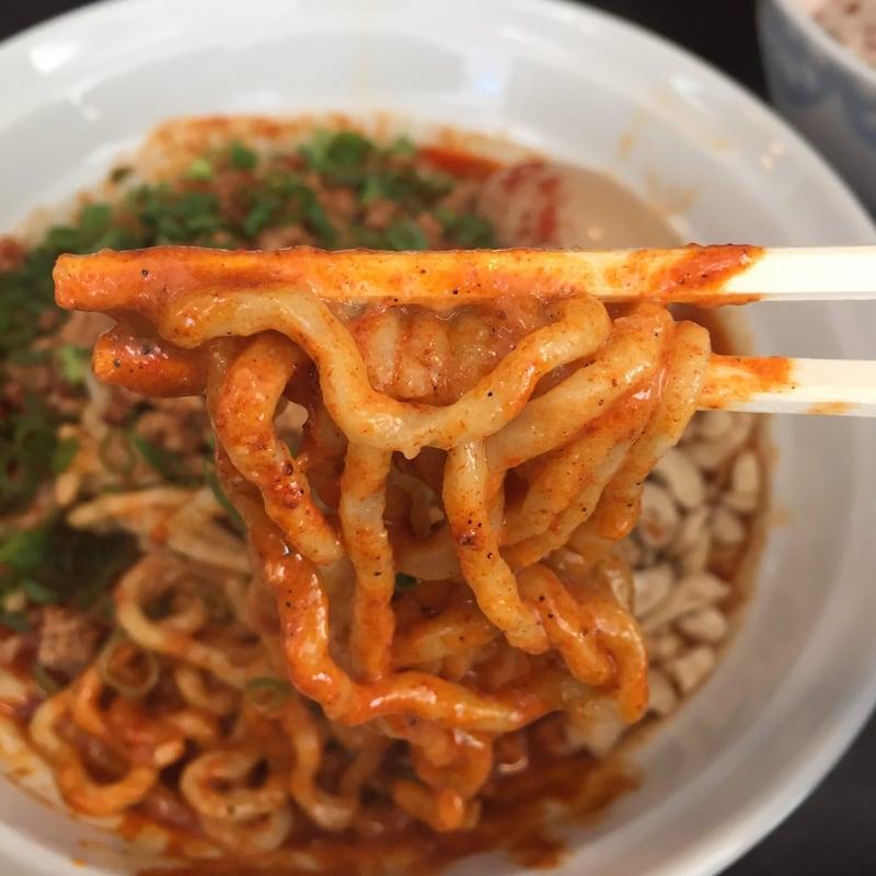 麺屋 満開 汁なし担々麺(大辛)