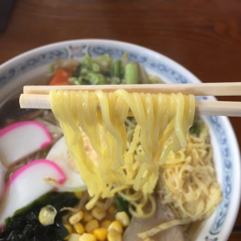 味楽食堂 五目そば 麺