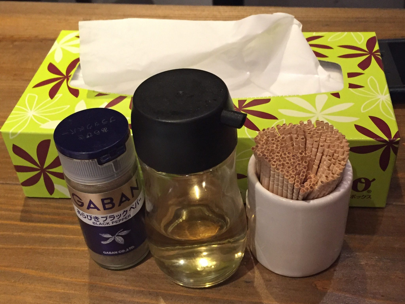 JIRO&MAZESOBA 奨(すすむ) 辛まぜそば 味変 調味料