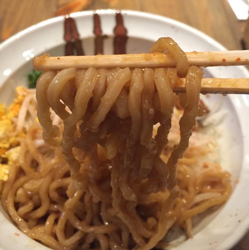 JIRO&MAZESOBA 奨(すすむ) 辛まぜそば 麺