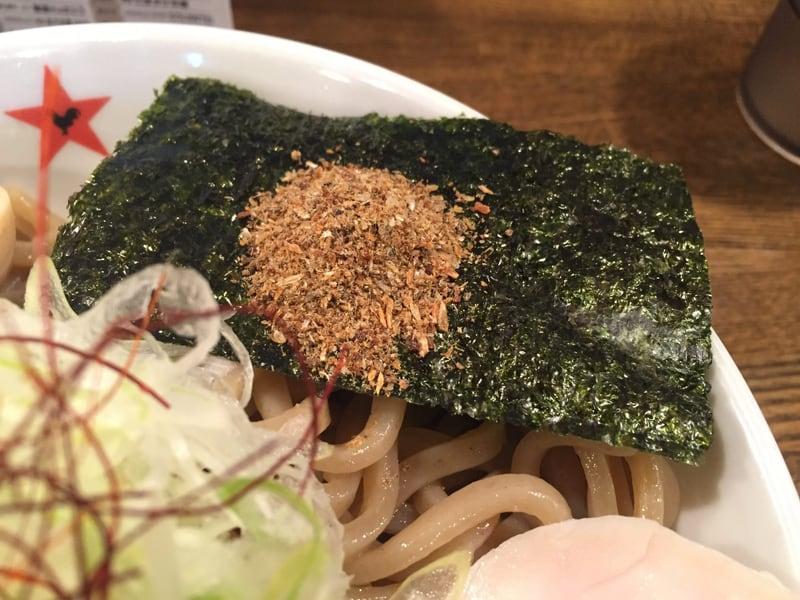 ラーメン男寿狼 鶏骨煮干つけ麺 具