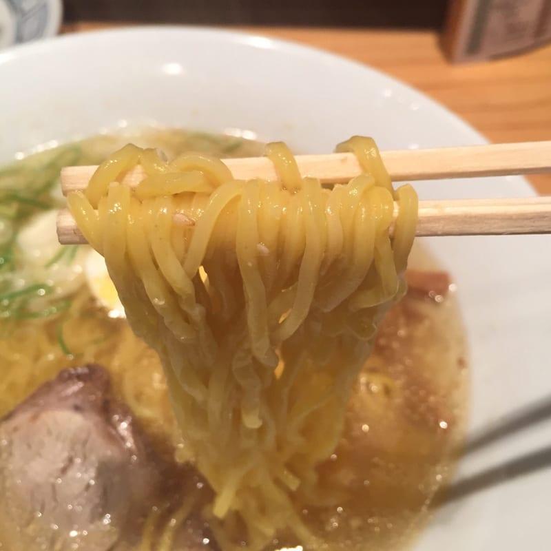 拉麺桜木屋 秋田店 塩ラーメン 麺