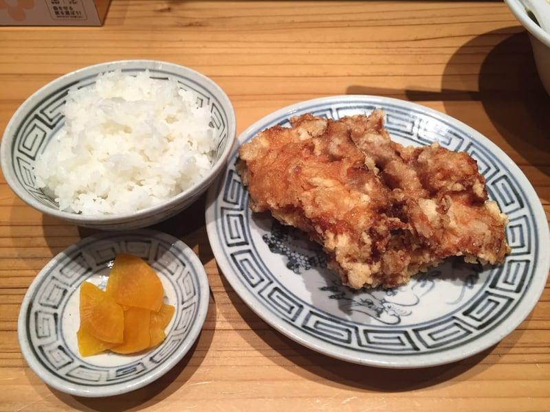 拉麺桜木屋 秋田店 鶏の唐揚げ ごはん