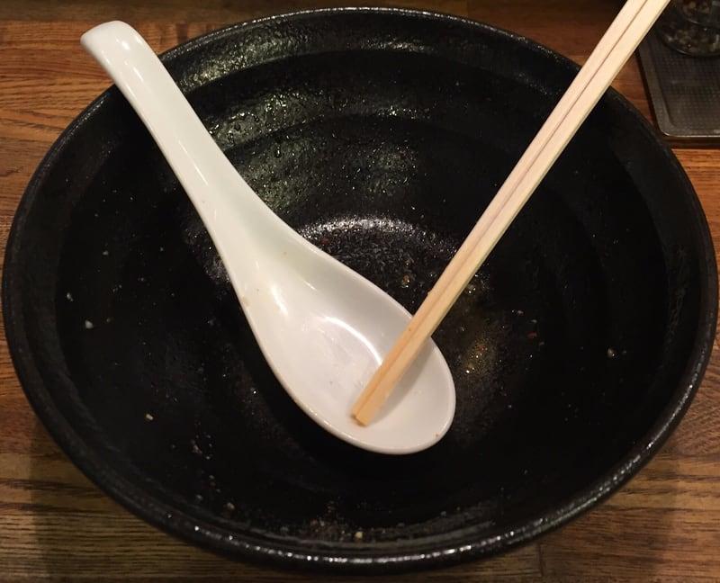 麺屋 信成 辛玉豚骨 完食