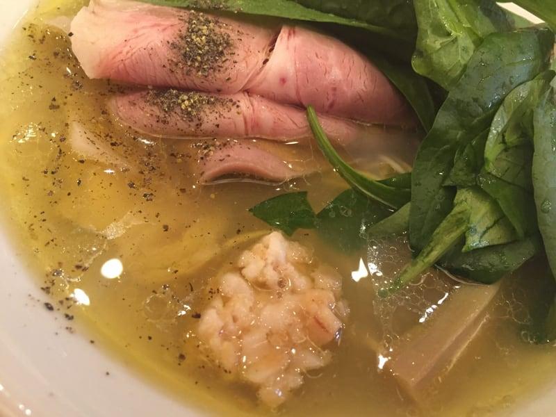 自家製麺うろた 5種の貝だしソバ 具
