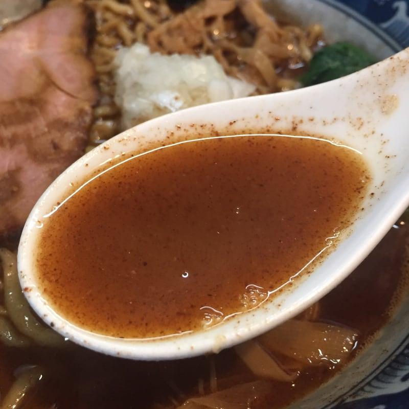 麺屋 葵 魚介豚骨ラーメン スープ