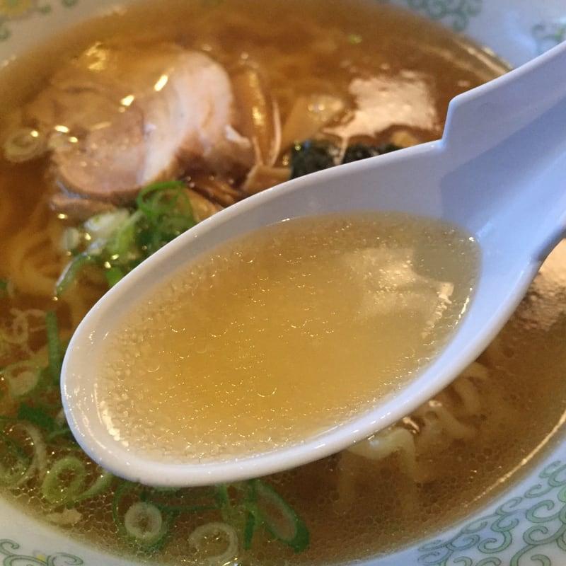 いさご食堂 手打中華 スープ