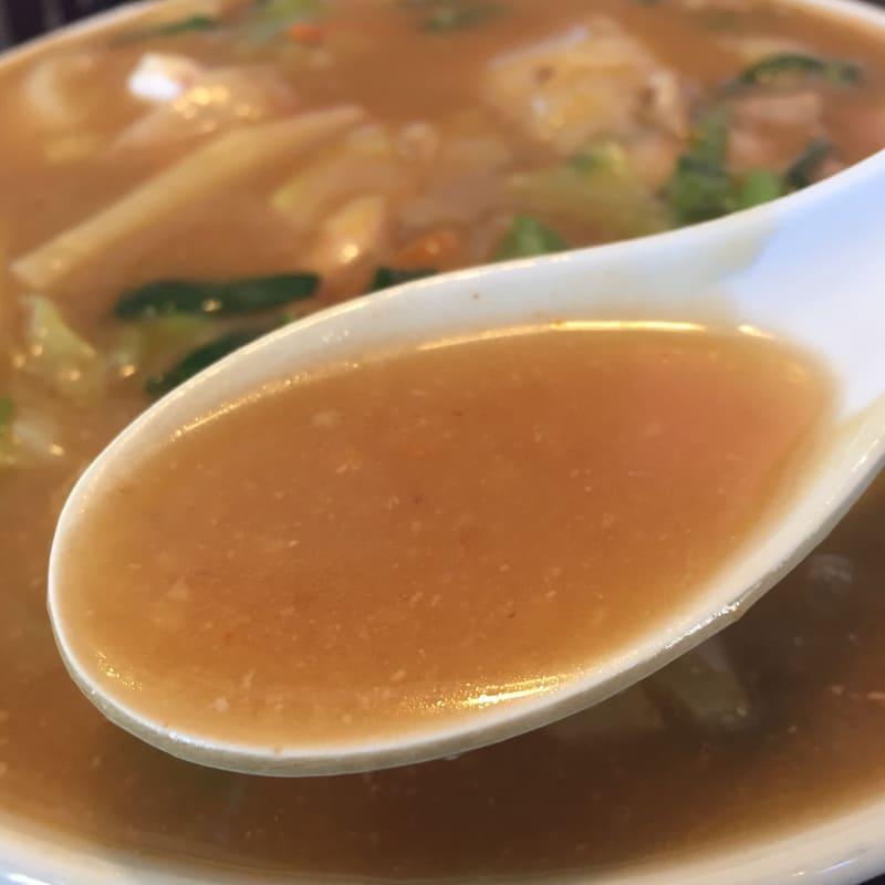ラーメンショップ チャイナタウン みそチャンポン スープ