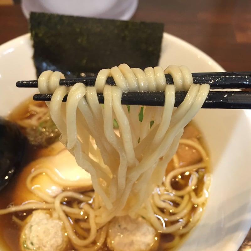 NOODLE SHOP KOUMITEI(香味亭) 丸鶏中華そば 麺