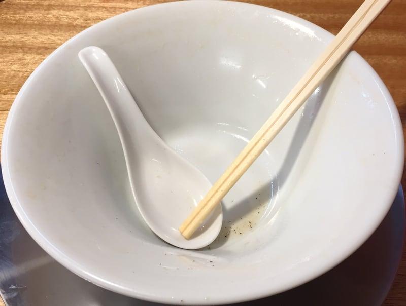 湯の台食堂 中華そば 完食