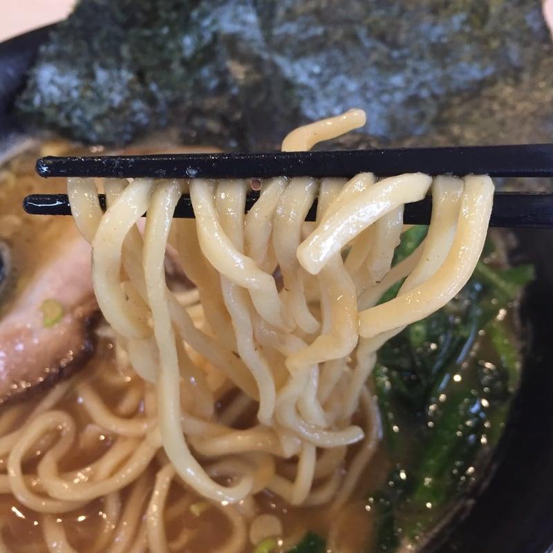 麺屋 新月 河内家醤油 麺