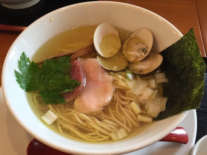 麺SAMURAI 桃太郎 ハマグリ塩
