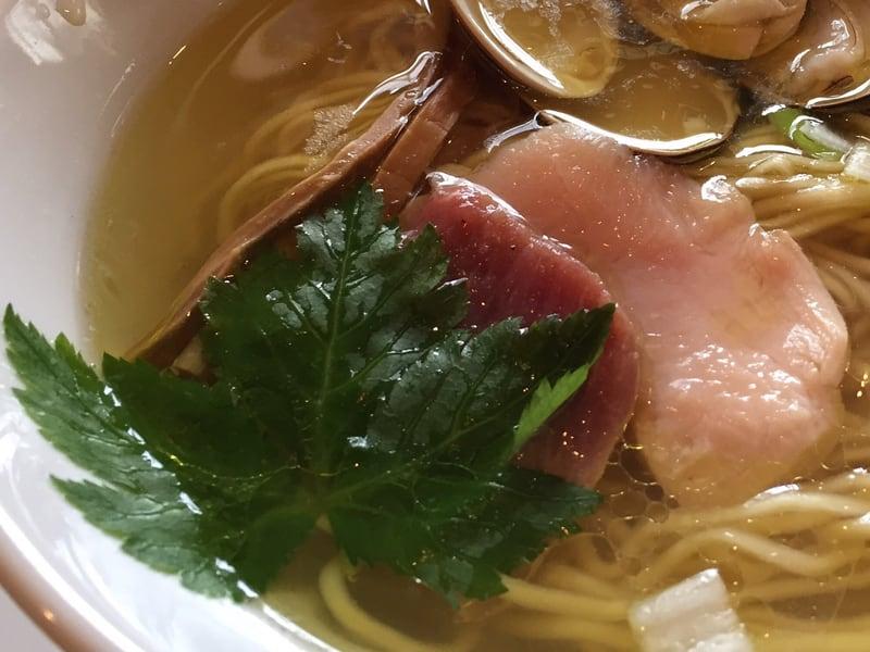 麺SAMURAI 桃太郎 ハマグリ塩 具