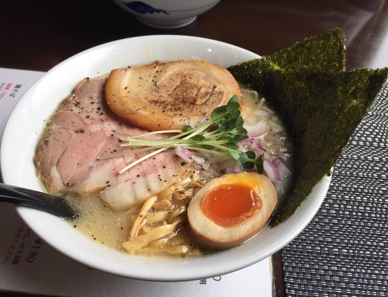 煮干らー麺 シロクロ 鶏そば