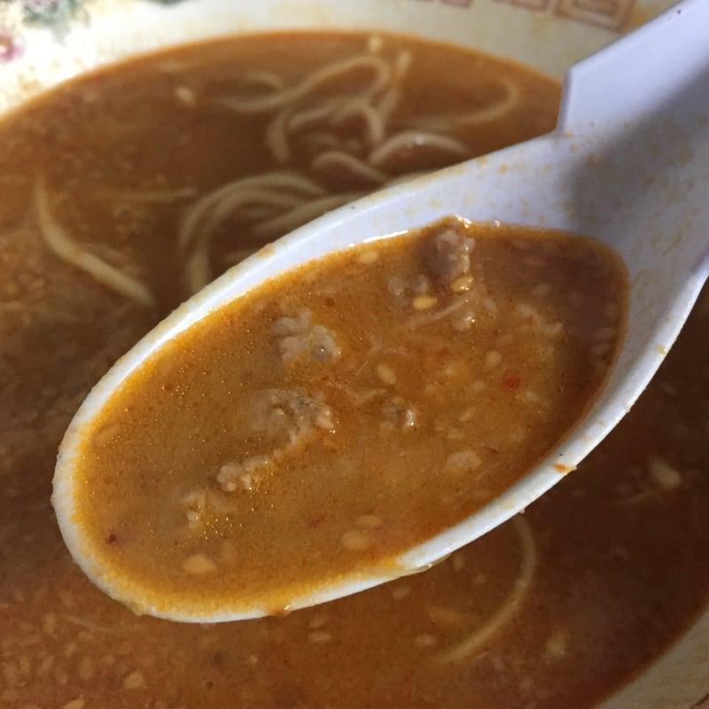 ラーメン陸王 ぴり辛担々めん スープ