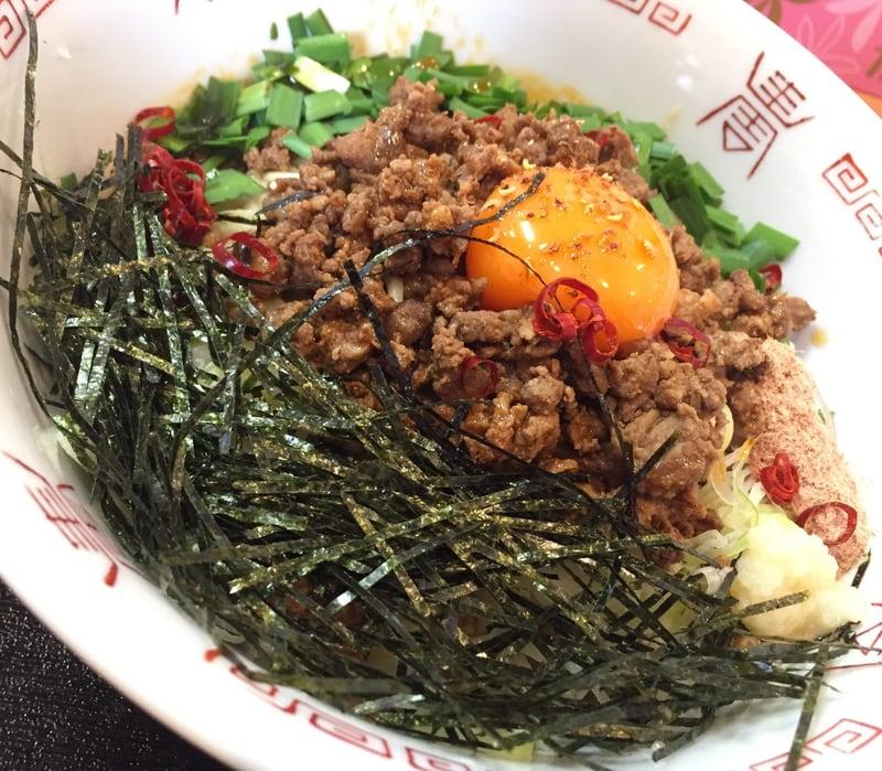 自家製麺 麺や二代目 夜来香 夜来香式辛台湾まぜそば 具