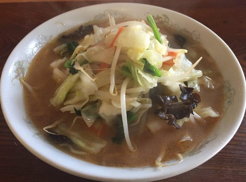 お食事・宴会 竹の花 みそ野菜ラーメン