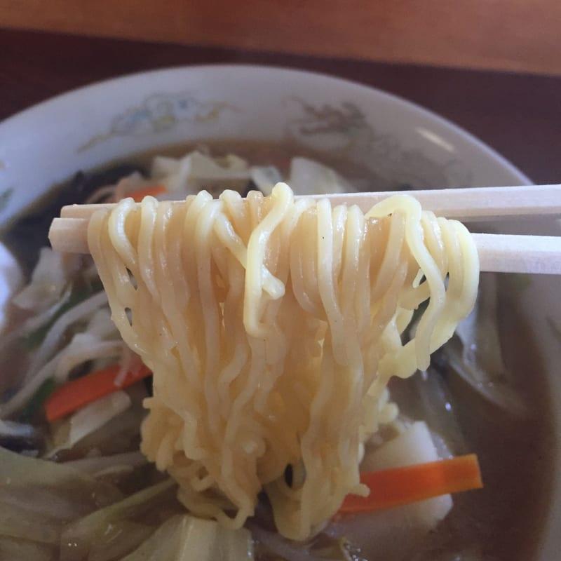 お食事・宴会 竹の花 みそ野菜ラーメン 麺