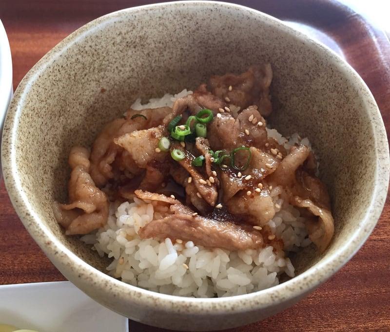 農家レストラン 米サラダハウス ミニ焼肉丼
