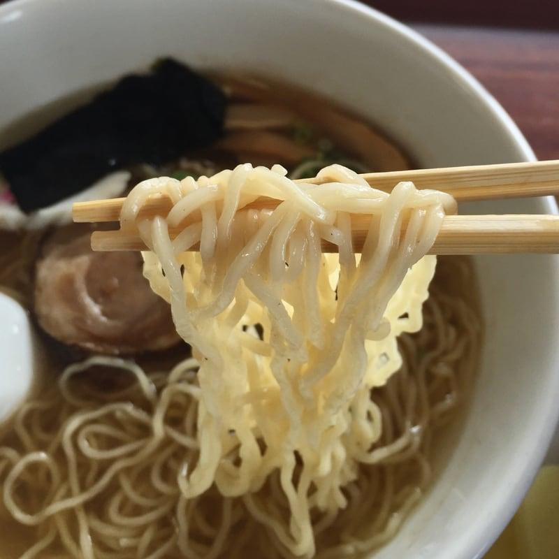 農家レストラン 米サラダハウス ダブルスープラーメン 麺
